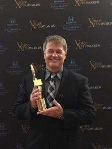 Scott Thomas - Voice Arts Awards WINNER